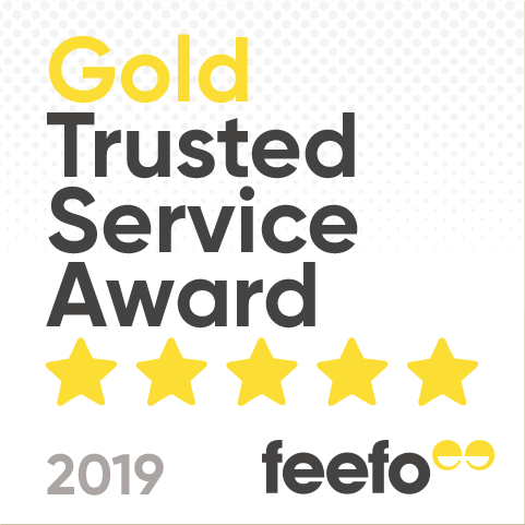 Feefo Gold Trusted Service for another year!