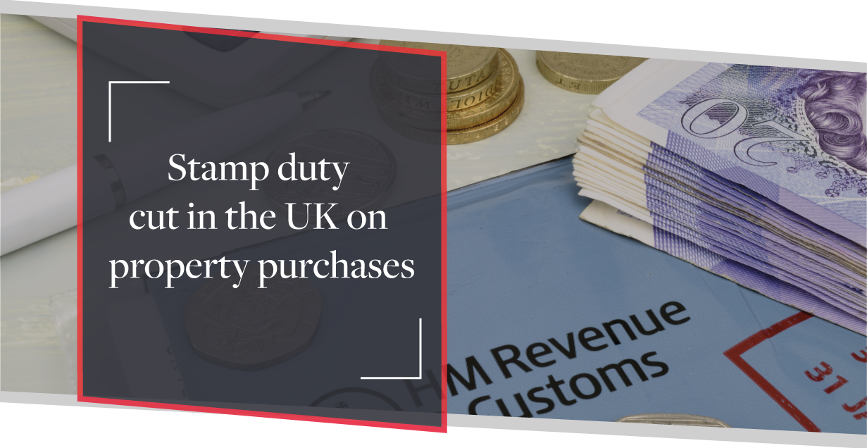 Stamp Duty Cut in the UK - Budget Announcement