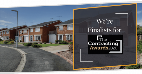Finalist for The Contracting Awards 2020 | CMME