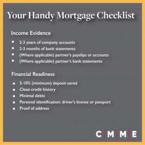 mortgage for company directors checklist