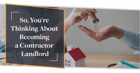 So, You're Thinking About Contractor Buy to Let? | CMME